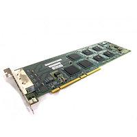 501-6522 Сетевая Карта SUN Microsystems X4444A Quad Gigaswift Quad Gigabit Ethernet Adapter 3xi21154BE 4x1000Мбит/сек 4xRJ45 PCI/PCI-X