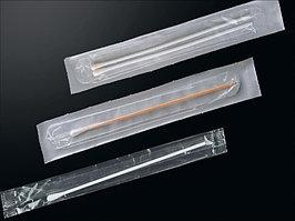 Тампон- зонд из вискозы с пластиковым аппликатором, стерильный, инд. уп.