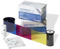 Набор для печати: лента YMCKT GO GREEN, чистящий ролик и карта Datacard 535000-003