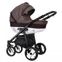 Детская универсальная коляска COLETTO SAVONA DECOR 2 В 1 (коричневая), фото 1