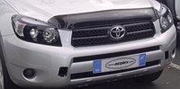 Защита фар Toyota RAV4 2006-2008 с чёрным рисунком