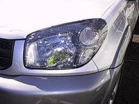 Защита фар Toyota RAV4 2003-2004 карбон