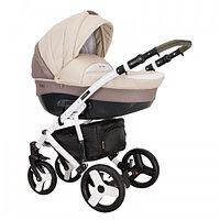 Детская универсальная коляска COLETTO  FLORINO CARBON 2 В 1 (бежевая)