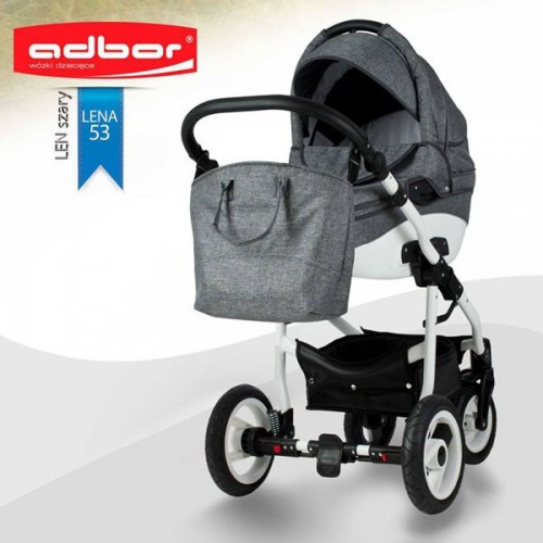Детская универсальная коляска COLETTO  Adbor Nemo 2 В 1 (серая)
