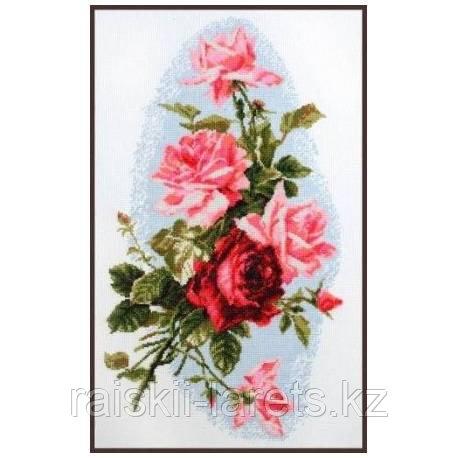 """Набор для вышивки крестом """"Розовый шик"""" 01.012"""