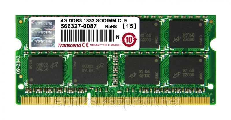 ОЗУ Transcend  4 Гб DDR3-1333