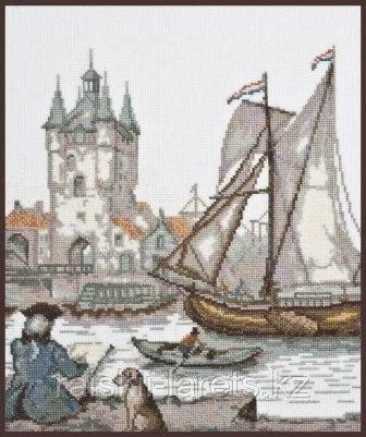 """Набор для вышивки крестом """"Голландский художник"""" 07.009"""