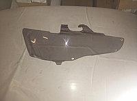 Защита фар Mitsubishi Lancer X 2007+ тонированная