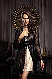 Женская  атласная сорочка +кружевной халат. Anabel Arto., фото 2