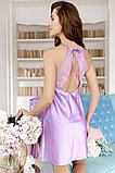 Женская атласная сорочка + халатик. Anabel Arto. , фото 2