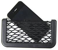Автомобильный держатель-сетка для телефона на липучке (14,5* 8 см)