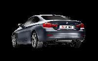 Выхлопная система AKRAPOVIC Evolution Line (SS) на BMW 435i (F32), фото 1