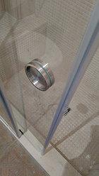 Раздвижная душевая перегородка из закаленного стекла 5
