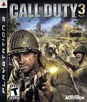 Игра для PS3 Call of Duty 3 (вскрытый)