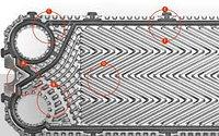 Прокладки для пластинчатых теплообменников Sondex S14A, фото 1