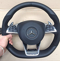 Оригинальный AMG руль для Mercedes Benz S-class W222 (G63 W463, GL166 и др.)