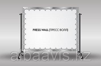 Пресс стены аренда, изготовление пресс стены