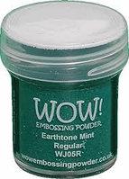 Пудра для эмбоссинга WOW  Earthtone Mint, фото 1