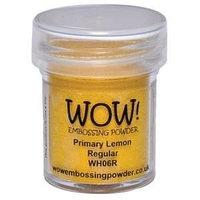 Пудра для эмбоссинга WOW Primary Lemon, фото 1