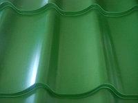 Металлочерепица СуперМонтерей глянец 6002 зеленый