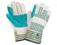 Краги, перчатки спилковые и кожаные, цельнокройные и  комбинированные