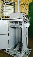 Пакетировочный пресс для макулатуры, пластика, плёнки. Производство СТАТИКО (Россия).