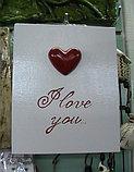Картина-открытка I love you, фото 3