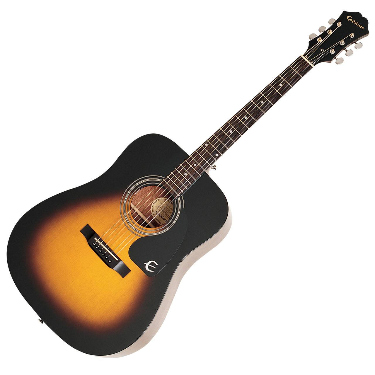 Гитара акустическая  EPIPHONE Pro 1 plus SUNBURST
