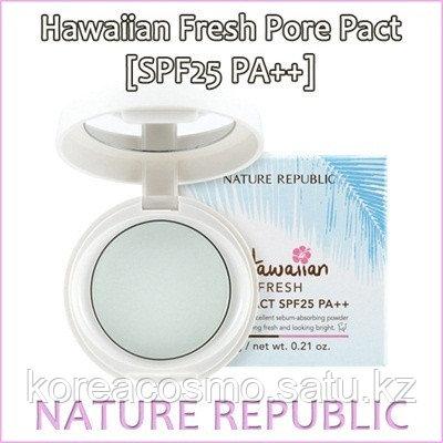 Компактная матирующая пудра для жирной кожи Hawaiian Fresh Pore Pact SPF25 PA+++,6гр