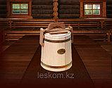 Кадка липовая для хранения меда 3л (оцинкованная сталь), фото 2
