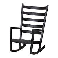Кесло-качалка ВЭРМДЭ д/дома/улицы черно-коричневый ИКЕА, IKEA , фото 1