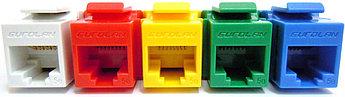 Eurolan Розеточный модуль UTP 1xRJ45 Keystone категории 5е