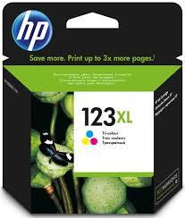 HP F6V18AE  Оригинальный струйный картридж, HP 123XL.