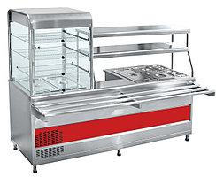 Сервисные линии и линии раздачи Прилавок-витрина холодильный ABAT ПВХМ-70КМУ
