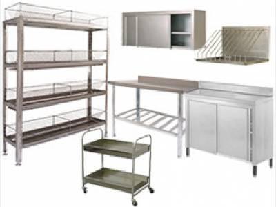 Столы рабочие столы, столы с ваннами, специализированные столы с поверхностями, стеллажи, шкафы