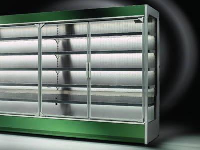 Холодильные горки и прилавки для самообслуживания CRIOCABIN ENCORE