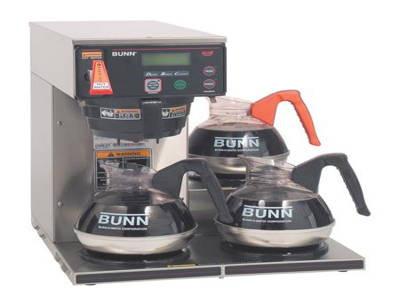 Для фильтрованного кофе с подогревателями BUNN