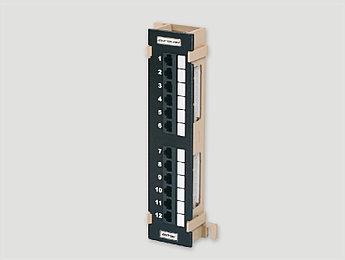 """Eurolan Коммутационная панель 2U 19"""", 48хRJ45, 568A/В, UTP, кат.5е, черная"""