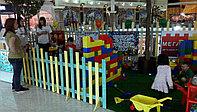 Забор для детской площедки