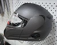 R-210B (XL) Серый матовый Мотошлем RACER, фото 1