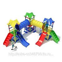 Детская площадка для улицы. Космический поворот