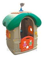 """Пластиковый домик для дачи """"Мишкин дом"""""""