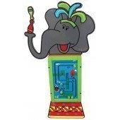 Настенная игровая система «Довольный слон» (вкл. 1 модуль)