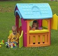 Игровой домик для улицы кухня