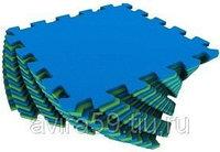 Напольное покрытие для детской комнаты сине-зеленое