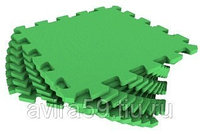 Мягкий коврик пазл зеленый