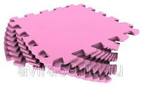 Напольное покрытие для игровой комнаты розовое