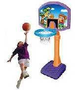 Баскетбольная стойка передвижная для дома