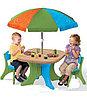 Столик со стульями и зонтом