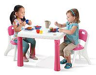 Детский столик со стульчиками для девочек